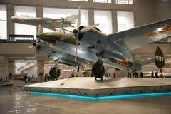 亚洲中国,北京,军事博物馆,室内展览室, 免版税库存图片