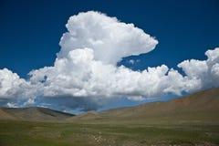 亚洲中央蒙古干草原 库存照片
