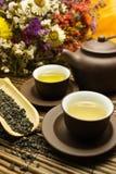 亚洲人集合茶 库存照片