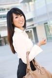 亚洲企业俏丽的妇女年轻人 图库摄影
