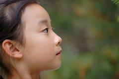 亚洲儿童表面 免版税库存图片