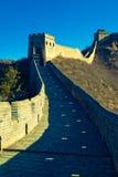 亚洲北京瓷极大的jiankou墙壁 免版税库存图片
