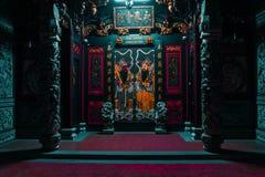 亚洲历史寺庙 库存照片