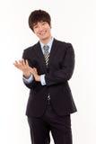 亚洲商人年轻人 免版税库存图片