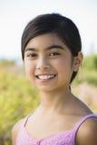 亚洲女孩纵向年轻人 免版税库存图片