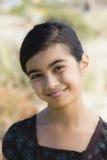 亚洲女孩纵向年轻人 图库摄影