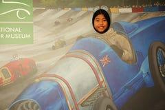 亚洲女性旅游场面 图库摄影