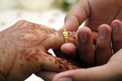 亚洲婚礼 免版税图库摄影