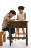 亚洲孩子 免版税库存图片