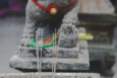 亚洲寺庙 库存图片