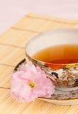 亚洲寿命仍然制表主题的茶 免版税库存图片