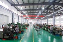 亚洲工厂 免版税图库摄影