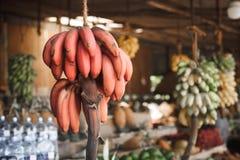亚洲市场,异乎寻常的果子 免版税库存照片