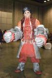 亚洲常规cosplay比赛 库存照片