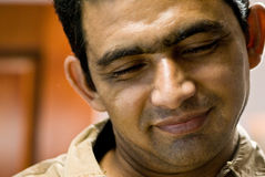亚洲微笑 免版税库存图片