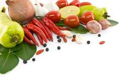 亚洲成份食物 库存图片