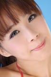 亚洲有吸引力的妇女年轻人 免版税库存图片