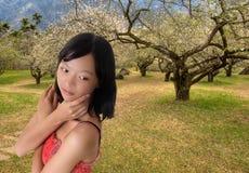 亚洲有吸引力的秀丽 图库摄影
