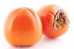 亚洲柿树柿子 库存图片