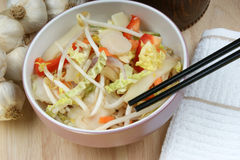 亚洲混合某棵蔬菜 免版税库存照片