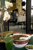 亚洲牛肉碗面条 图库摄影