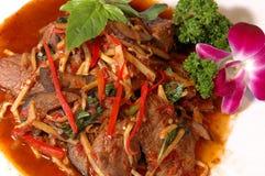 亚洲牛肉 库存照片