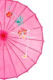 亚洲特写镜头粉红色伞 库存图片