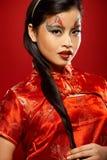 亚洲玩偶塑料 图库摄影
