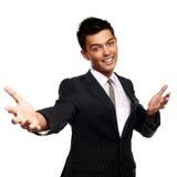 亚洲生意人年轻人 库存照片