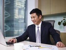 亚洲生意人 图库摄影