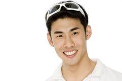 亚洲男 免版税图库摄影