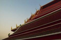亚洲的屋顶 免版税库存照片