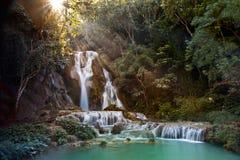 亚洲的瀑布 免版税库存照片