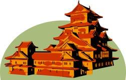 亚洲结构 向量例证