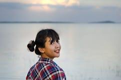 亚洲美丽的女孩年轻人 库存照片