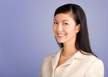 亚洲职业妇女年轻人 免版税库存图片
