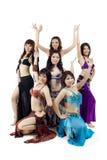 亚洲肚皮舞马戏团 免版税库存图片