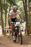 亚洲自行车冠军马来西亚山 免版税库存照片