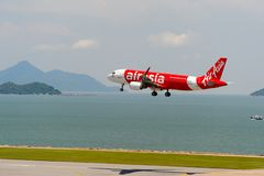 亚洲航空 免版税库存照片
