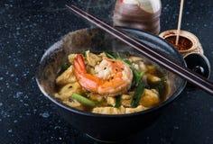 亚洲蛋汤样式 库存图片