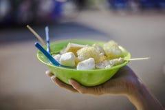 亚洲街道食物 免版税库存照片