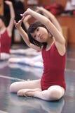 亚洲跳舞孩子 库存图片