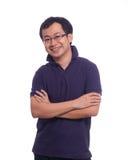 亚洲青年时期 免版税库存照片