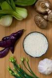 亚洲食品成分 库存照片