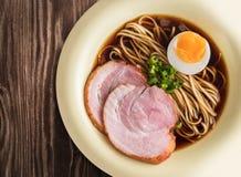 亚洲食物,汤面 库存图片