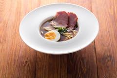 亚洲食物,汤面 免版税图库摄影