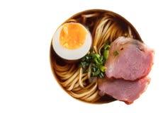 亚洲食物,汤面 免版税库存图片
