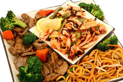 亚洲食物 免版税库存照片