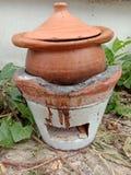 亚洲饮用的罐 免版税图库摄影