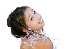 亚洲glamor 免版税库存图片